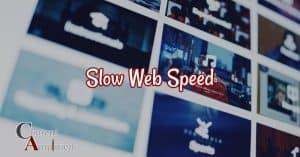 slow website speed