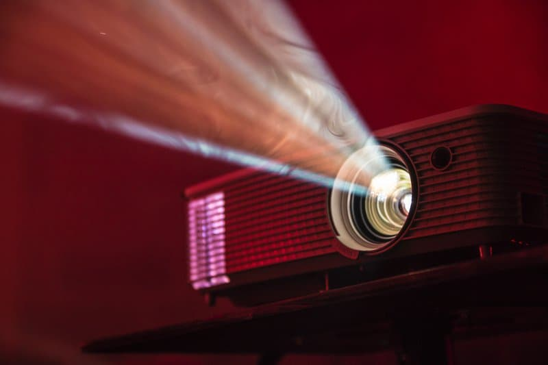 mini Projector rays