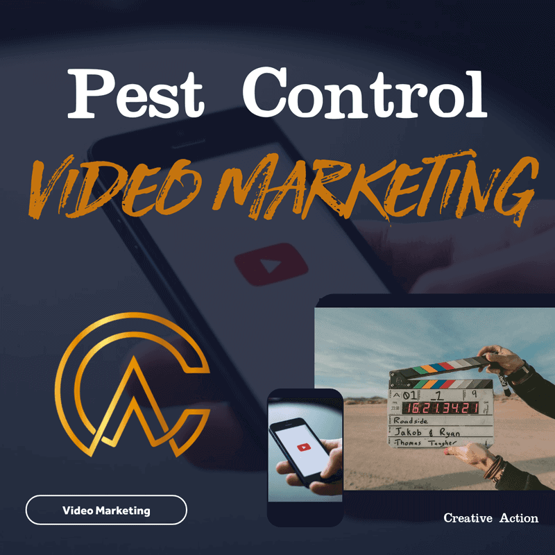 pest control advertising - video marketing